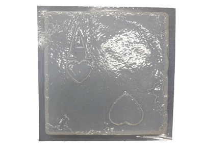 Ace card concrete plaster mold 1024