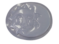 Sun moon concrete mold 1025