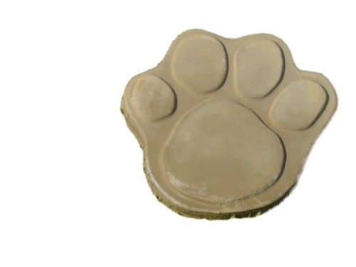 Dog Cat 13 in Paw Print Concrete Stepping Stone Mold 1030