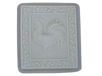 Rooster concrete stepping stone mold 1038