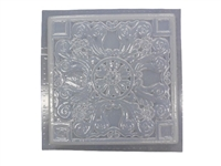 Greek floral concrete stepping stone mold 1042