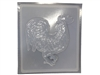 Rooster concrete stepping stone mold 1048