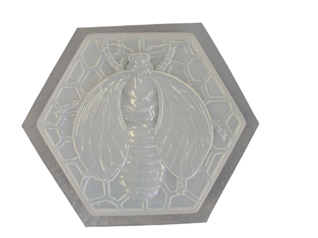 bumble bee concrete stepping stone mold 1060