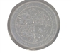 Four season concrete stepping stone mold 1063