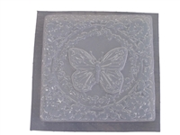 Butterfly concrete stepping stone mold 1067