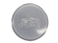 Tractor concrete stepping stone mold 1075