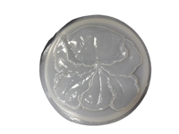 Iris flower concrete stepping stone mold 1082