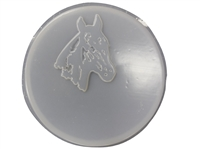 Horse concrete stepping stone mold 1087