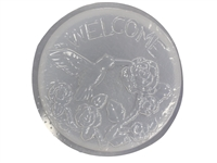 Hummingbird concrete stepping stone mold 1088