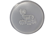 Deer concrete stepping stone mold 1090