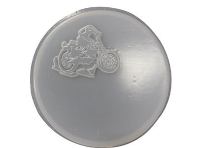 Motorcycle concrete plaster mold 1092