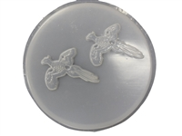 Pheasant concrete stepping stone mold 1093