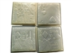 Card concrete stepping stone mold 1101