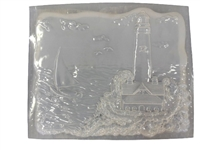 Lighthouse concrete plaster mold 1102