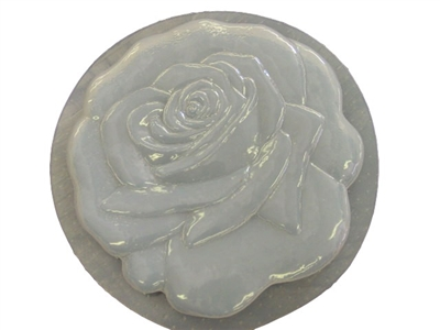 Rose flower concrete stepping stone mold 1104