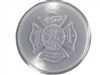 Firefighter concrete plaster mold 1107