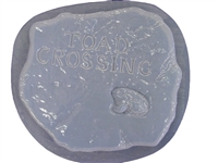 Toad concrete stepping stone mold 1109