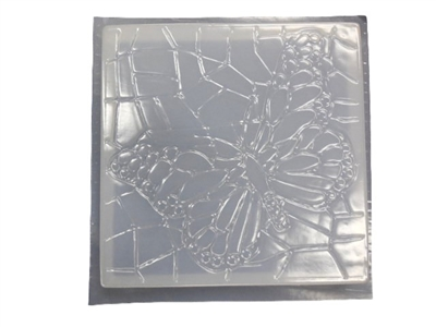 Butterfly concrete stepping stone mold 1116