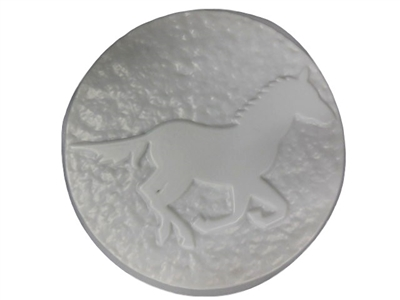 Horse concrete stepping stone mold 1122