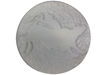Bull rider concrete stepping stone mold 1123