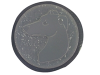 Whippet concrete stepping stone mold 1133