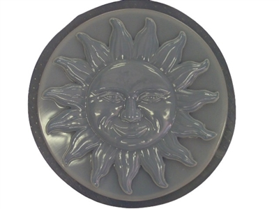 Large Sun Concrete Mold Stepping Stone Mold 1140