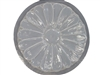 Flower concrete stepping stone mold 1142