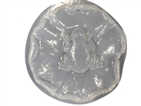 Frog Lily concrete stepping stone mold 1146