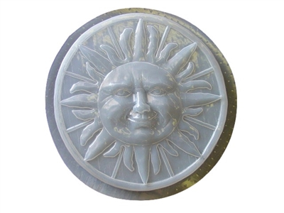 Sun concrete stepping stone mold 1152