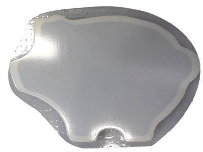 Pig concrete stepping stone mold 1153