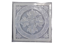 Ivy leaf concrete stepping stone mold 1154