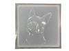 Boston Terrier Concrete Mold 1167