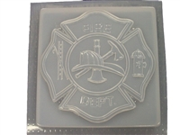 Fireman Maltese Cross Concrete Mold 1170