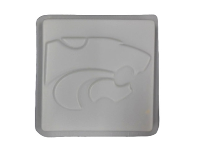 Wild Cat concrete stepping stone mold 1186