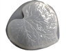 Rhubarb Leaf Concrete Stepping Stone Mold 1194