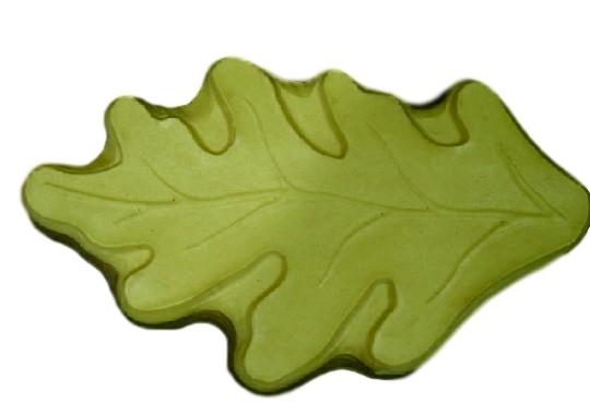 Huge Decorative Leaf  Garden Stepping Stone Plaster or Concrete Mold 1135