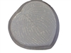 Hosta Leaf Concrete Stepping Stone Mold 1197