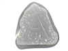 Letter A Concrete Stepping Stone Mold 1203