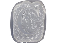 Letter C Concrete Stepping Stone Mold 1205