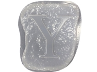 Letter Y Concrete Stepping Stone Mold 1207