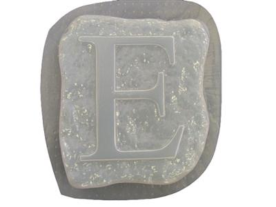 Alphabet Letter I  Stepping Stone Plaster or Concrete Mold 1209 Moldcreations