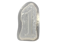 Monogram Number 1 Mold 1229