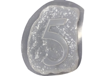 Monogram Number 5 Mold 1233