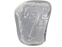Number 7 Concrete Mold 1235