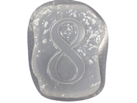 Number 8 Concrete Mold 1236