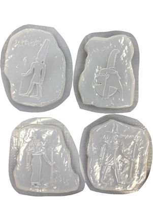 Egyptian Concrete Mold set 1240