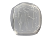 Anubis Egyptian Stepping Stone Mold 1241