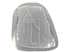 Isis Egyptian Stepping Stone Mold 1242