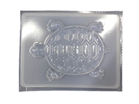 Turtle concrete stepping stone mold 1246