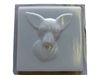 Chihuahua Concrete Stepping Stone Mold 1251